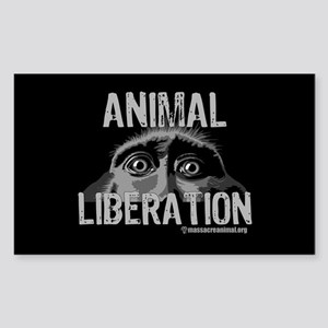 Animal Liberation 6 - Sticker (Rectangle)
