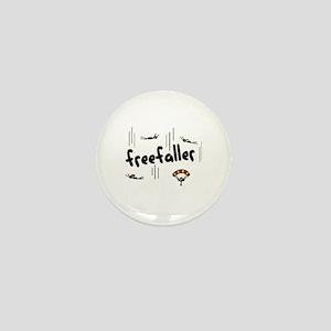'Freefaller' Mini Button