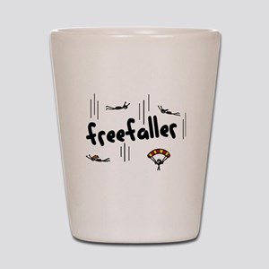 'Freefaller' Shot Glass