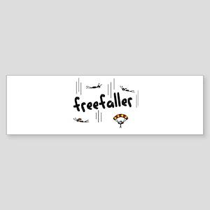 'Freefaller' Sticker (Bumper)