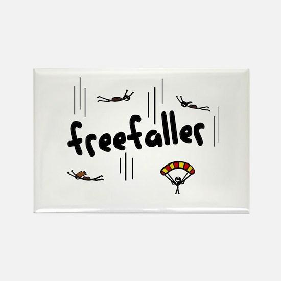 'Freefaller' Rectangle Magnet
