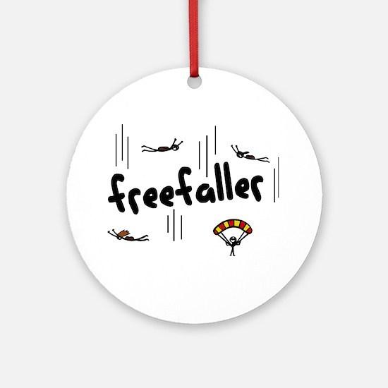 'Freefaller' Ornament (Round)