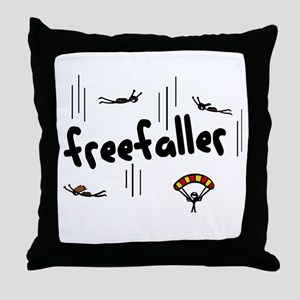 'Freefaller' Throw Pillow