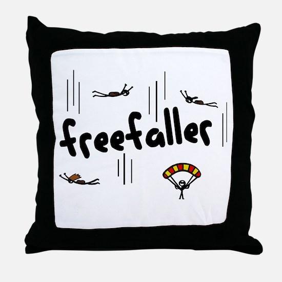 'Freefaller' Throw Pillow