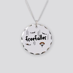 'Freefaller' Necklace Circle Charm