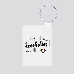 'Freefaller' Aluminum Photo Keychain