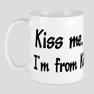 Kiss Me: Kingston Mug