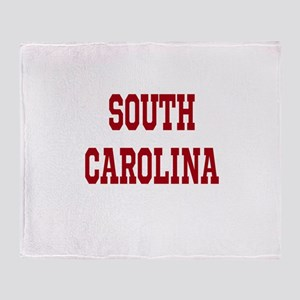 South Carolina Merchanddise Throw Blanket