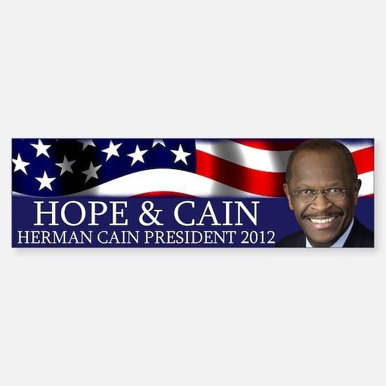Hope & Cain Sticker (Bumper)