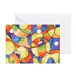 Carnival Balloons Greeting Cards (Pk of 10)
