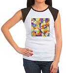 Carnival Balloons Women's Cap Sleeve T-Shirt