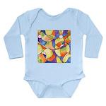 Carnival Balloons Long Sleeve Infant Bodysuit