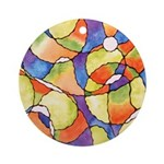 Carnival Balloons Ornament (Round)