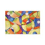 Carnival Balloons Rectangle Magnet (100 pack)