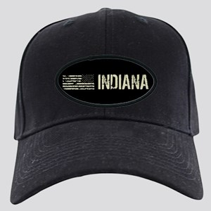 Black Flag: Indiana Black Cap with Patch