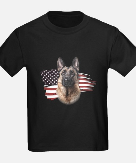 Patriotic German Shepherd T
