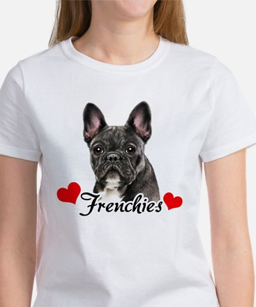 Love Frenchies - Brindle Women's T-Shirt