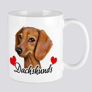 Love Dachshunds Mug