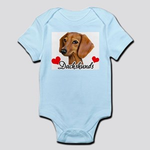 Love Dachshunds Infant Bodysuit