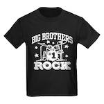 Big Brothers Rock Kids Dark T-Shirt