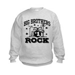 Big Brothers Rock Kids Sweatshirt