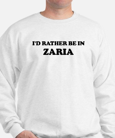 Rather be in Zaria Sweater