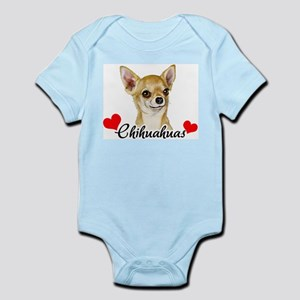Love Chihuahuas Infant Bodysuit