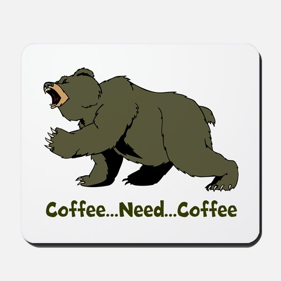 Need Coffee Mousepad