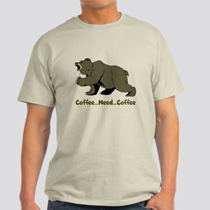 Need Coffee Light T-Shirt