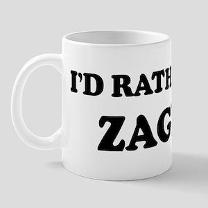 Rather be in Zagreb Mug