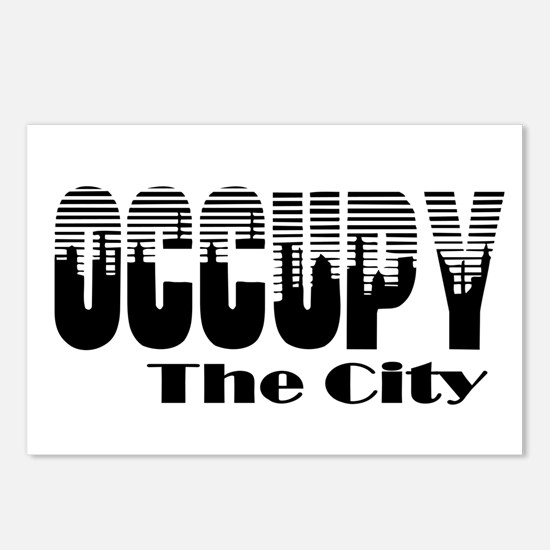 Occupy The City: Postcards (Package of 8)