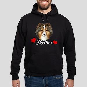 Love Shelties Hoodie (dark)