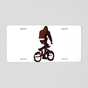 BikeTrix Aluminum License Plate