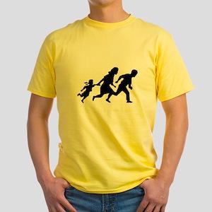 Border Run Yellow T-Shirt