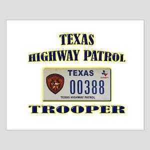Texas Highway Patrol Small Poster