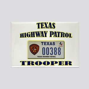 Texas Highway Patrol Rectangle Magnet