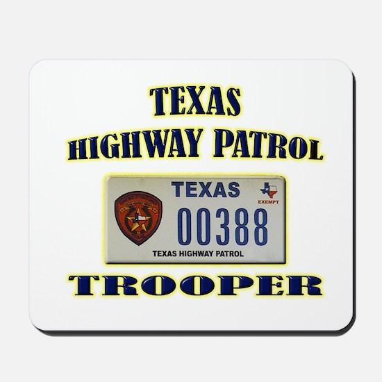 Texas Highway Patrol Mousepad
