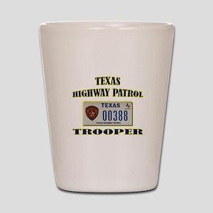 Texas Highway Patrol Shot Glass