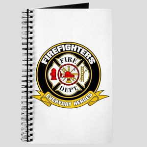 Firefighters Badge Journal
