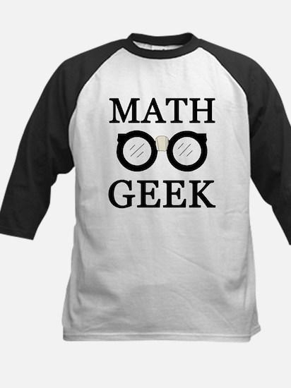 'Math Geek' Kids Baseball Jersey