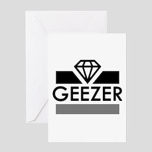 'Diamond Geezer' Greeting Card
