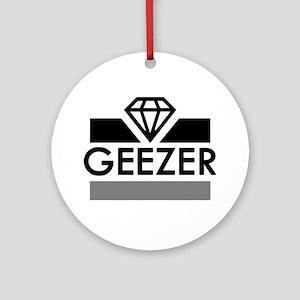 'Diamond Geezer' Ornament (Round)