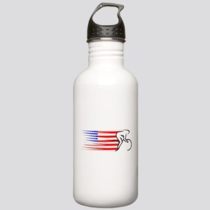 Track Cycling - USA Stainless Water Bottle 1.0L