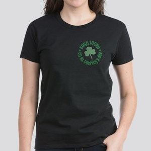 St. Patrick's Day Birthday Women's Dark T-Shirt