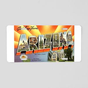 Greetings from Arizona Aluminum License Plate