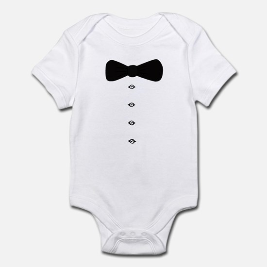 'Bow Tie Tux' Infant Bodysuit