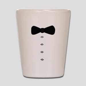 'Bow Tie Tux' Shot Glass