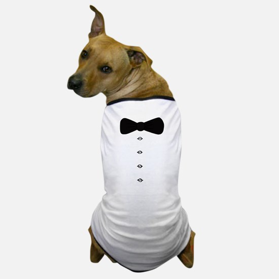 'Bow Tie Tux' Dog T-Shirt