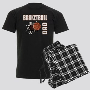 Basketball Dad Men's Dark Pajamas
