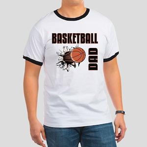 Basketball Dad Ringer T